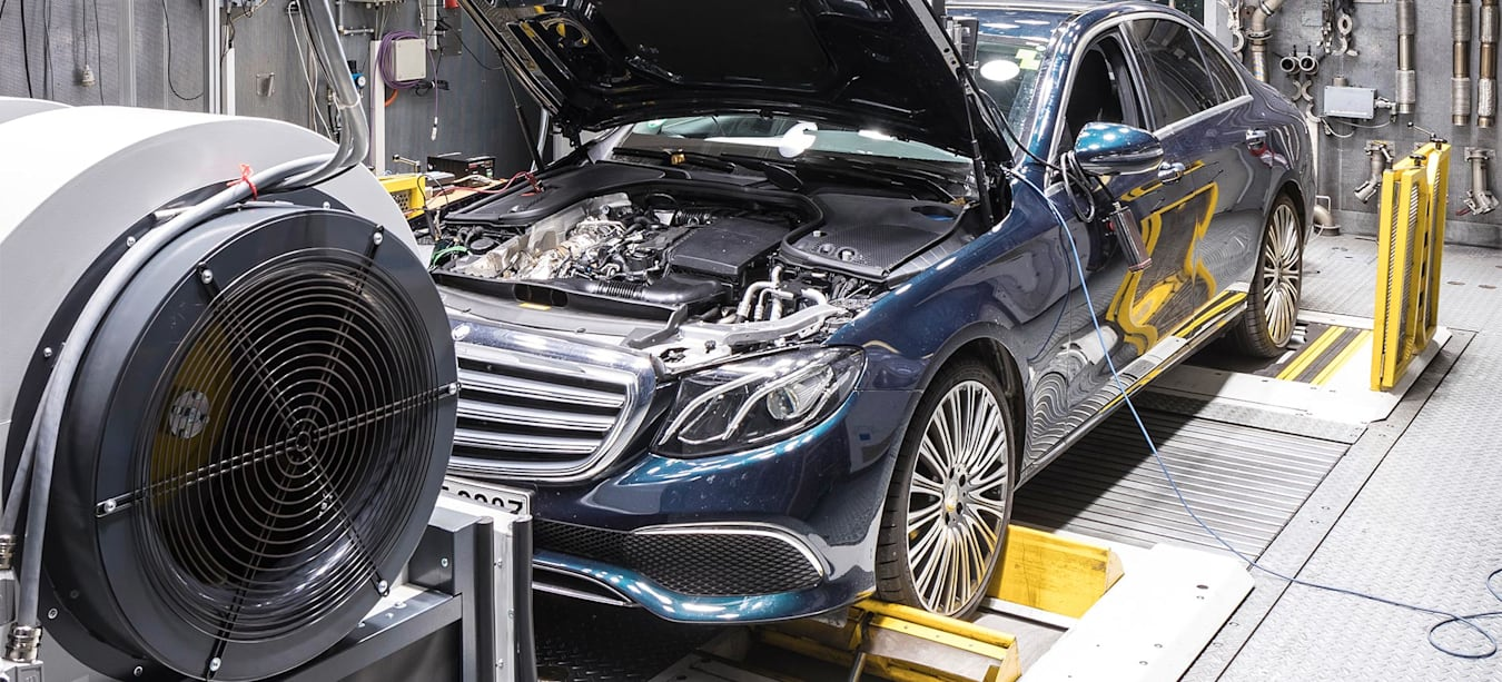 Geek Speak What is the WLTP emissions test feature