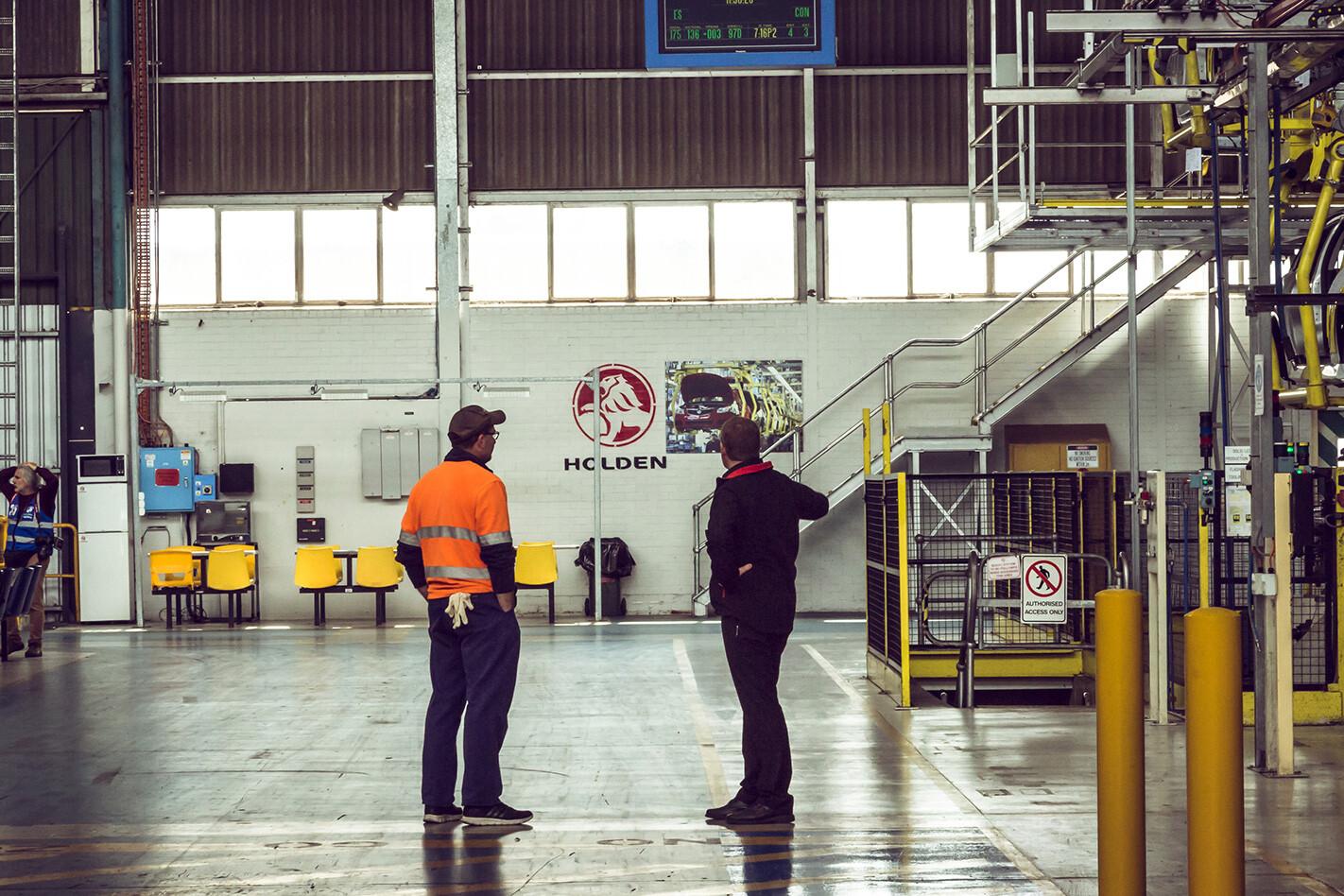 Holden Factory Closed Empty Jpg