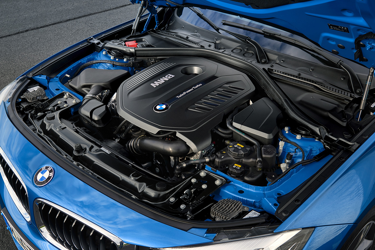 BMW M-Power Twin turbo engine