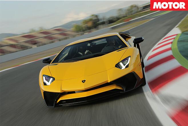 Lamborghini Avendator front