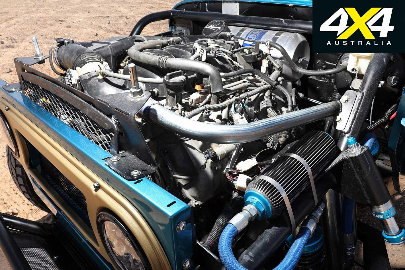 Gallery Custom Baja Bred Toyota FJ 45 Land Cruiser Engine Jpg