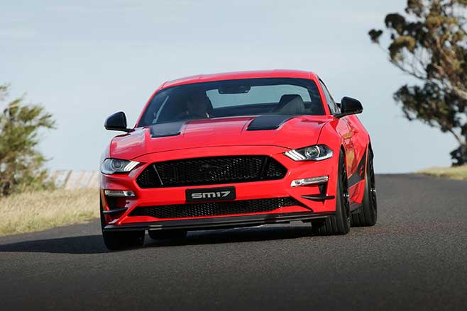 Supercharged Ford Mustang review.