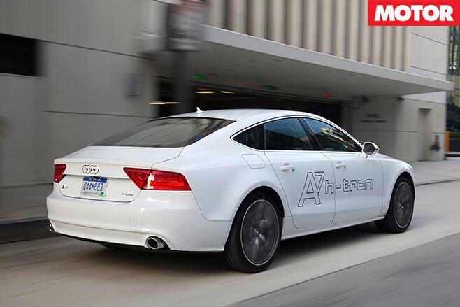 Audi A7 h-tron rear