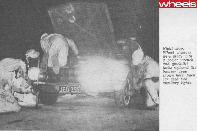 1965-Ford -Falcon -changing -tyres
