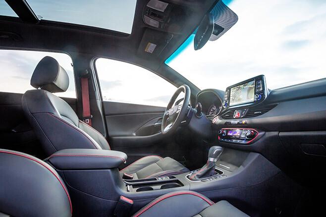 2017 Hyundai i30 rear