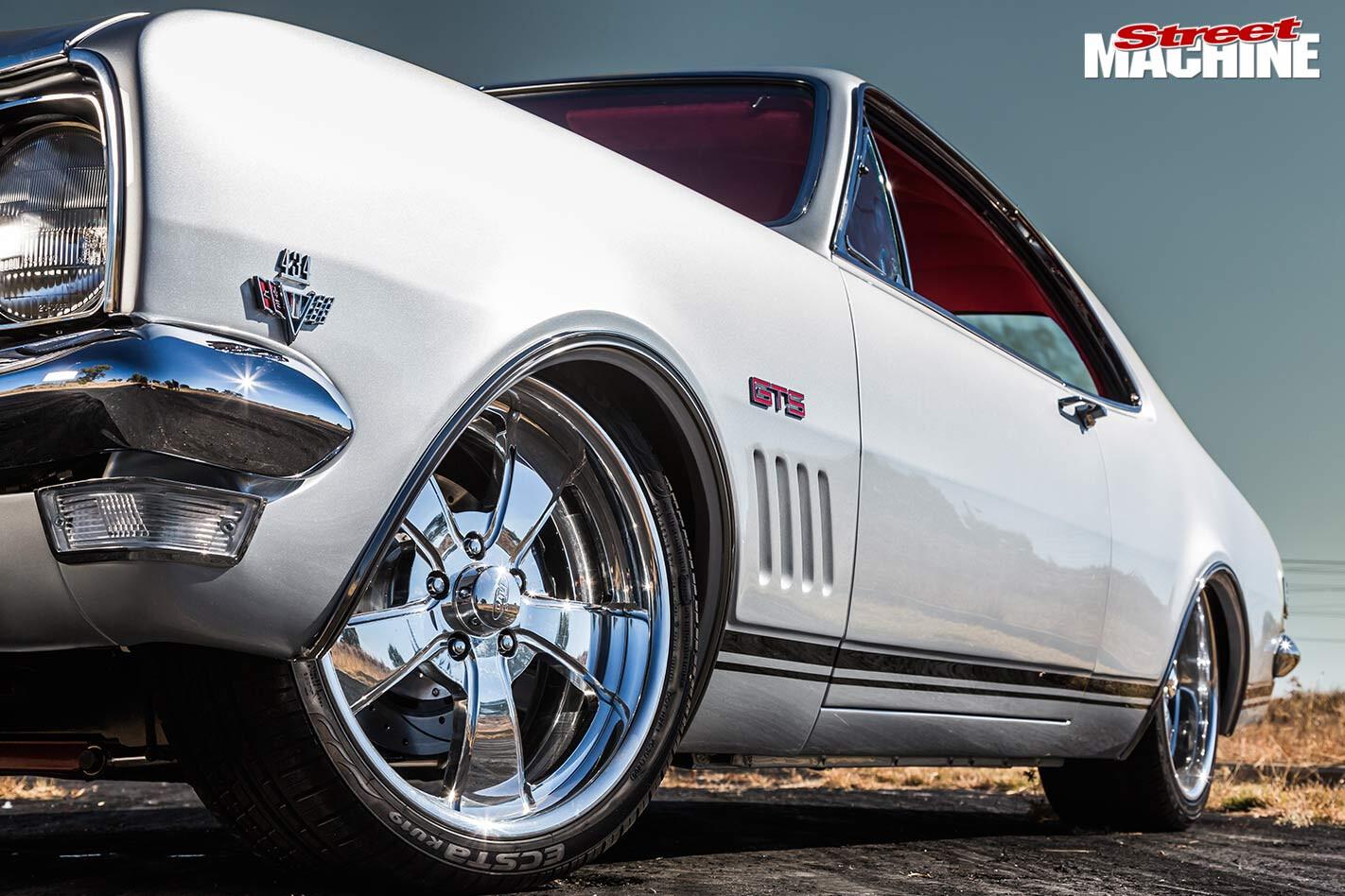 Holden HK Monaro wheels