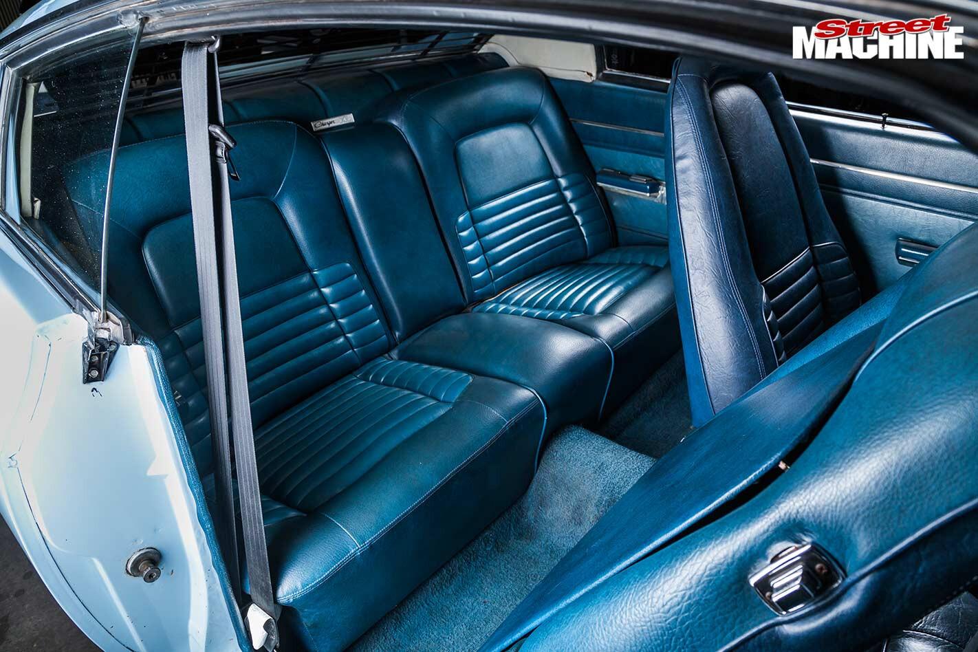 chrysler valiant charger interior