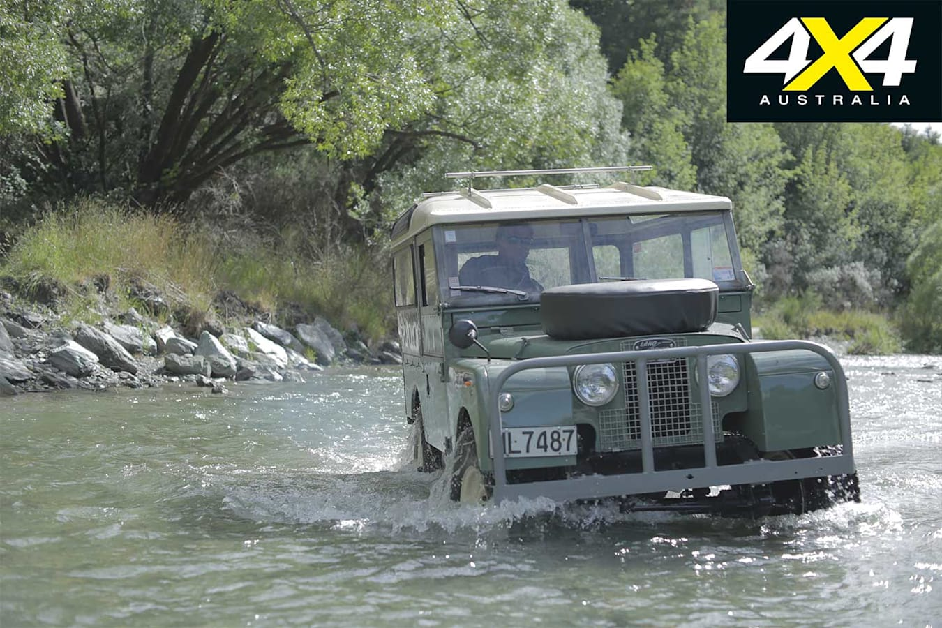 70 Years Of Land Rover Off Road River Crossing Jpg