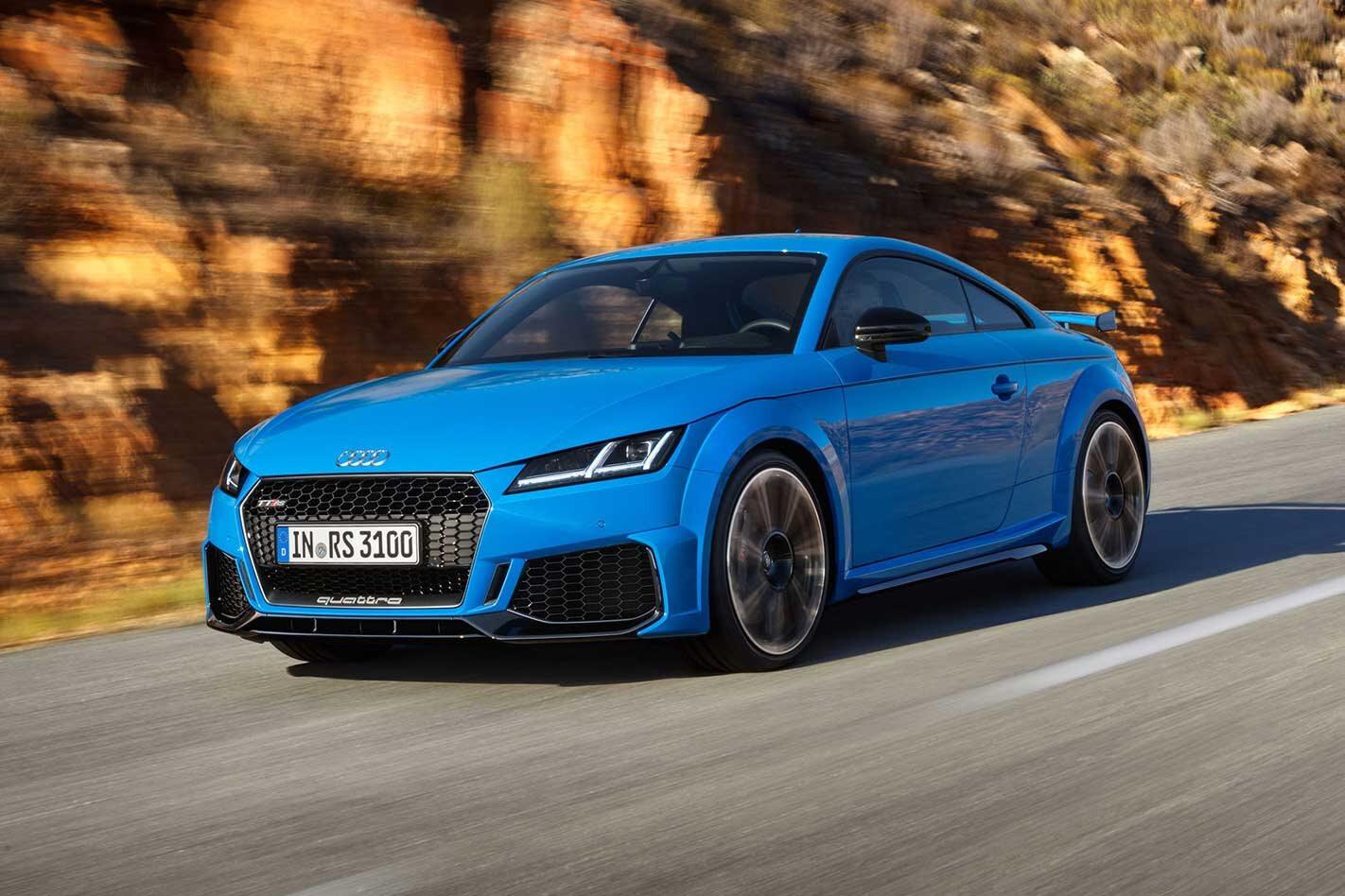 Audi TT RS facelifted for 2019