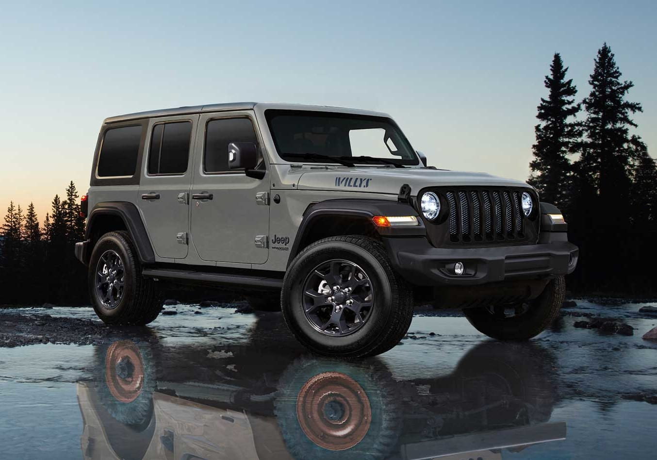 2021 Jeep Wrangler Unlimited Willys special edition