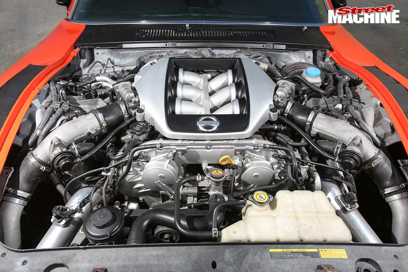 Ford -mustang -muzilla -engine