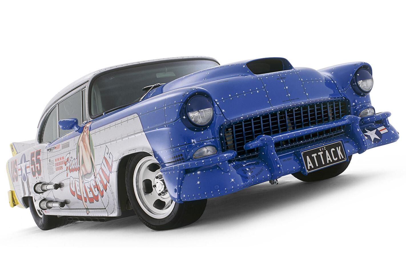 1955 Chevrolet Massive Attack front