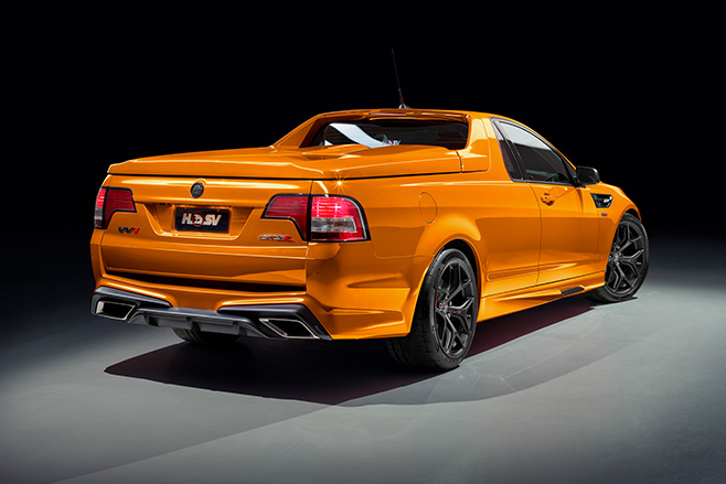 Just four HSV Maloo W1s were built