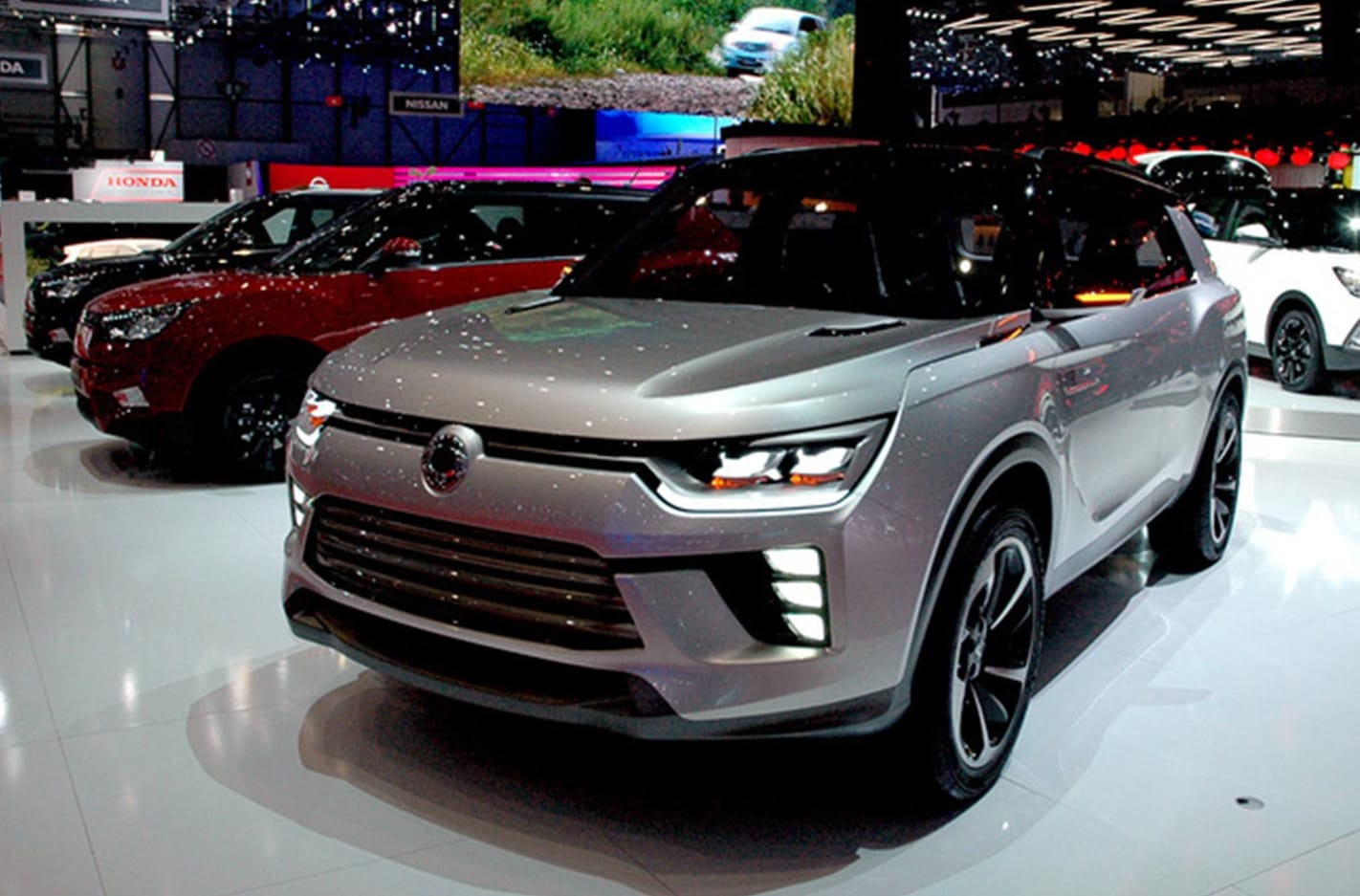 Ssangyong Front Side Jpg