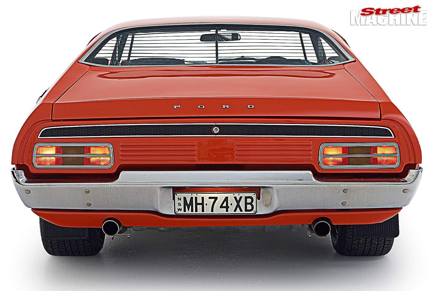 Ford Falcon XB rear