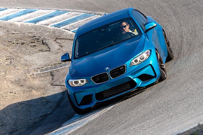 BMW M2 top front