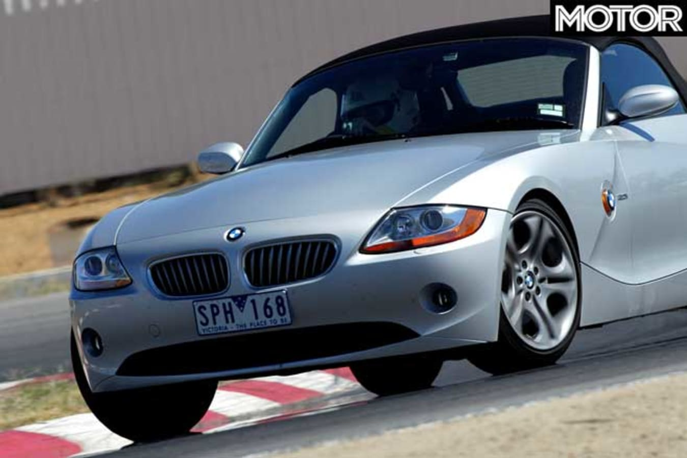 Performance Car Of The Year 2004 6th Place BMW Z 4 Cornering Jpg