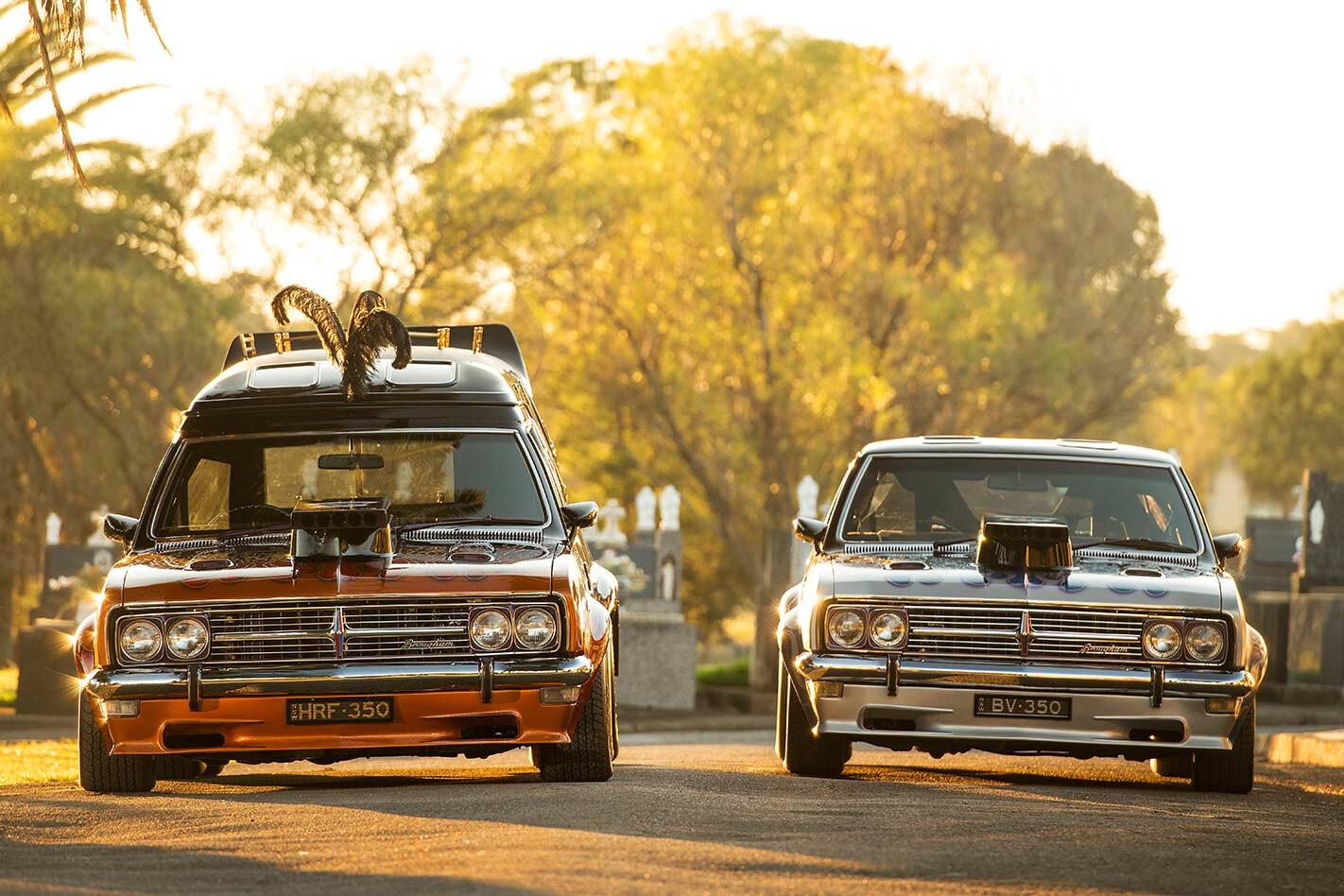 Hot Rod Funerals cars