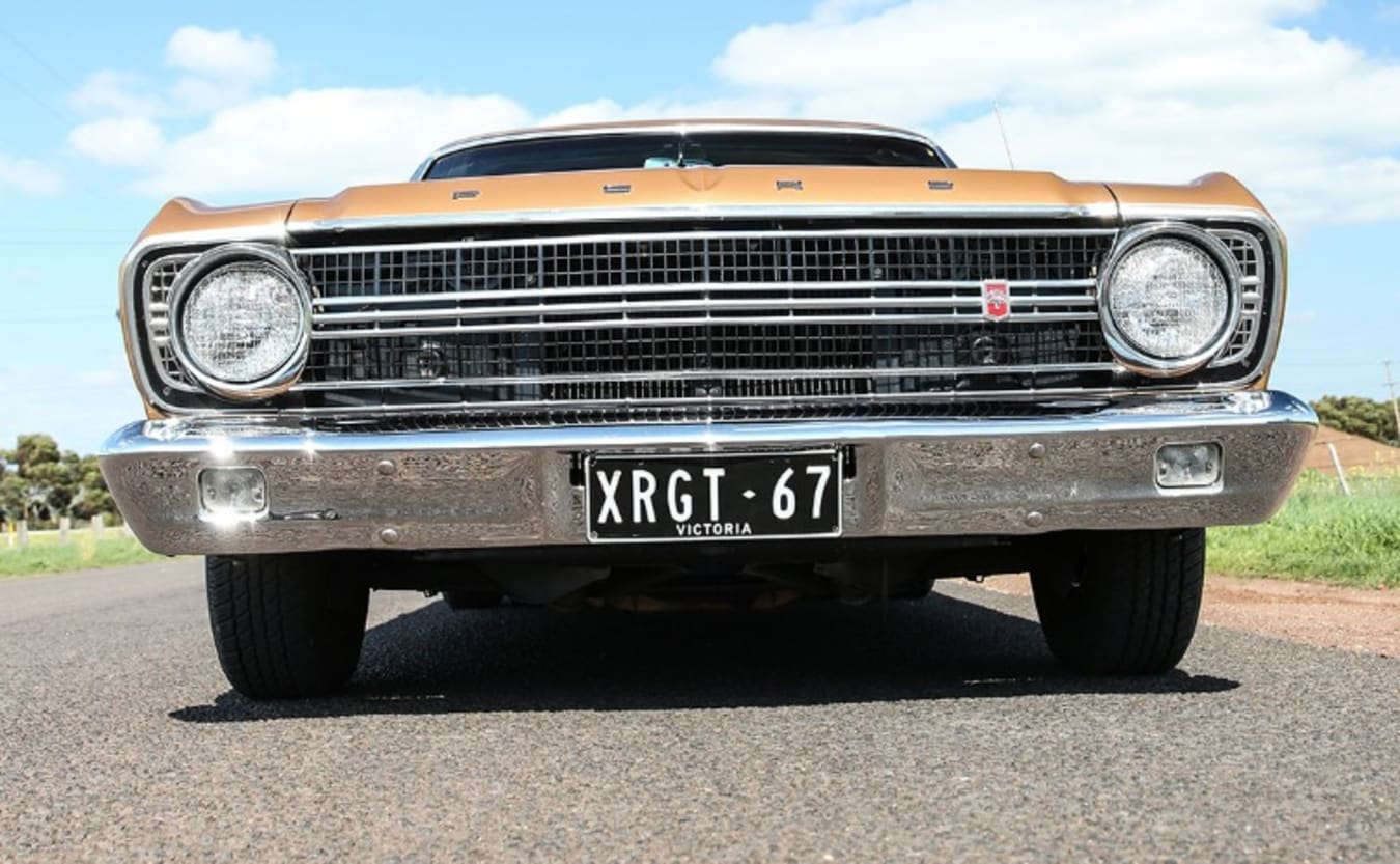 Ford XR Falcon 1967 front