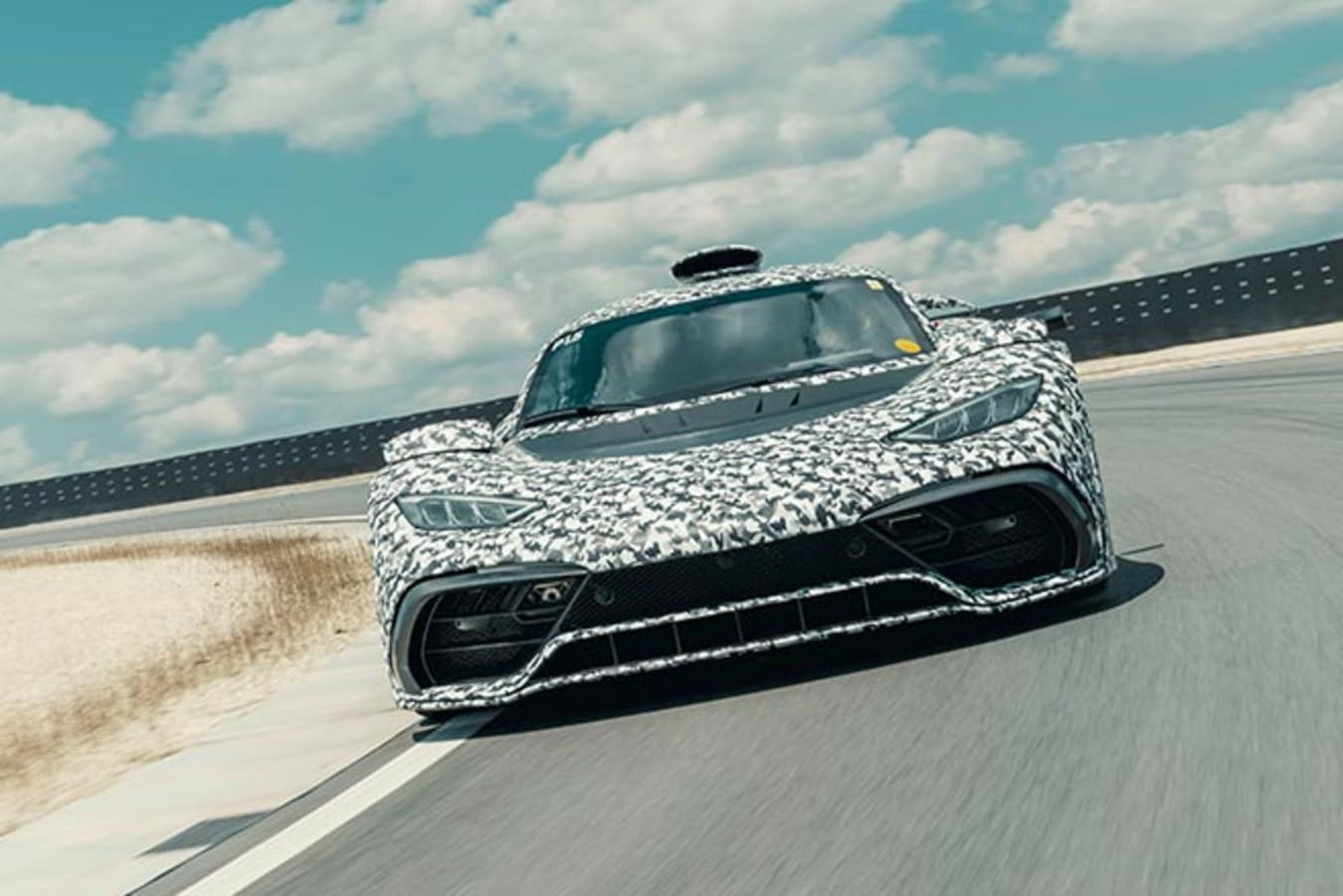 Mercedes-AMG Project One track test