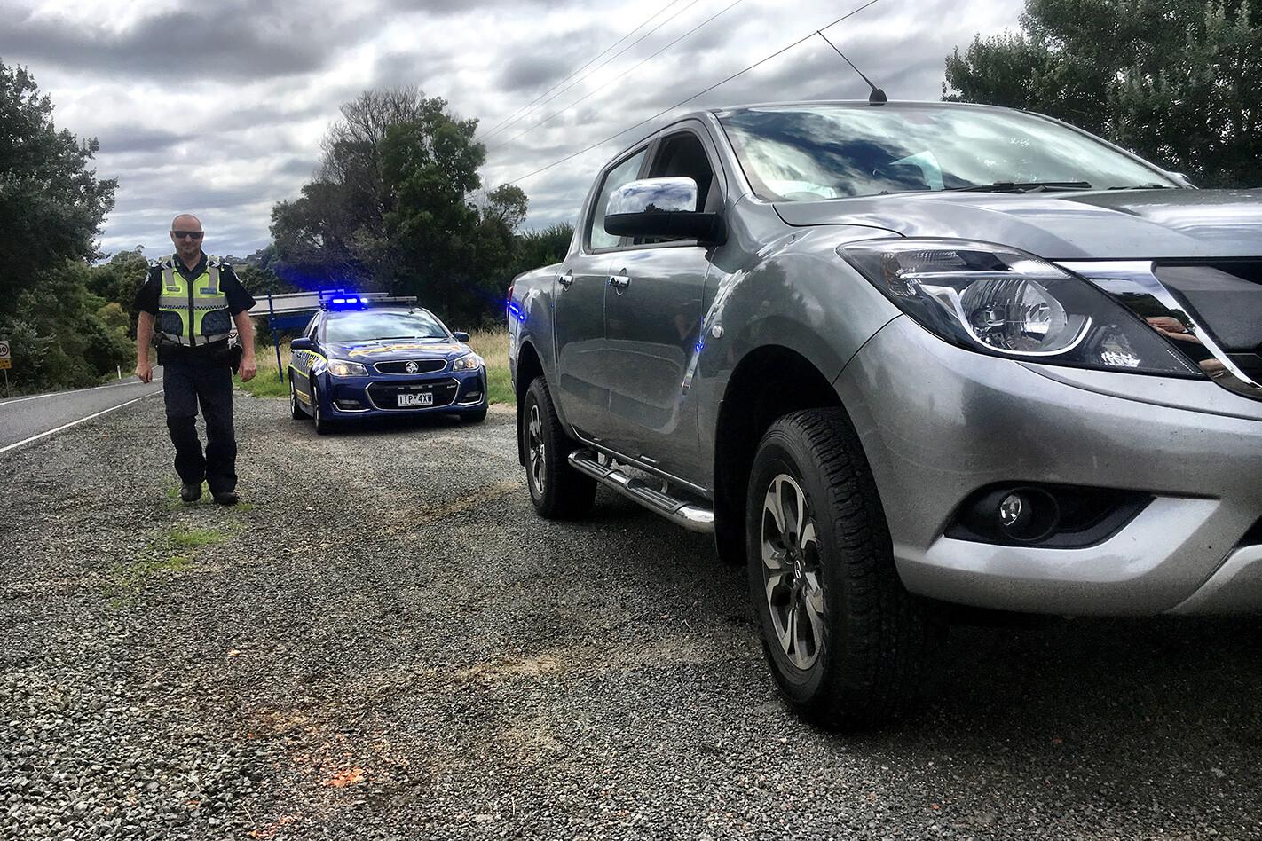Mazda Bt 50 Holiday Report Hwy Patrol Jpg