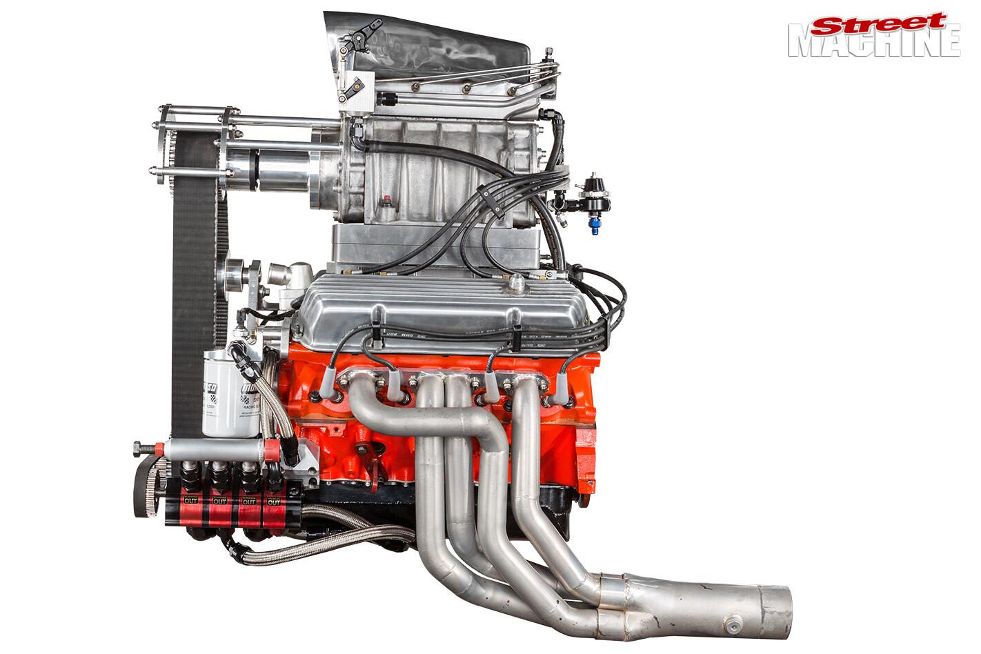 Blown 253 engine