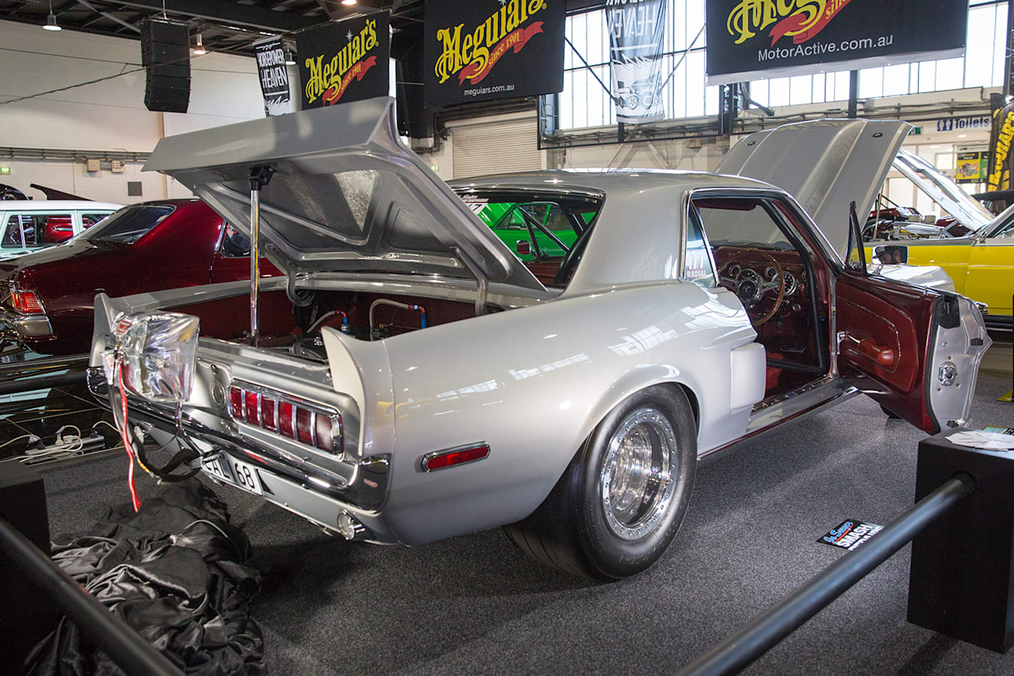 Mustang Top 60 Meguiars Reveal Summernats Jpg
