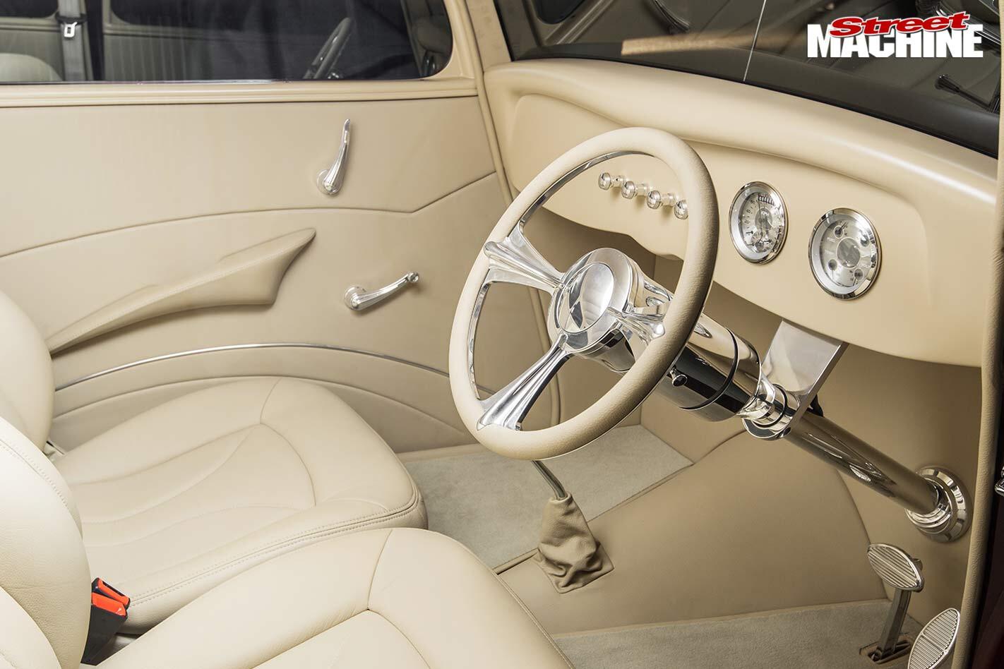 Ford Tudor interior