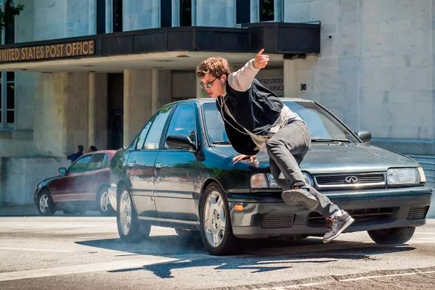 Baby Driver movie