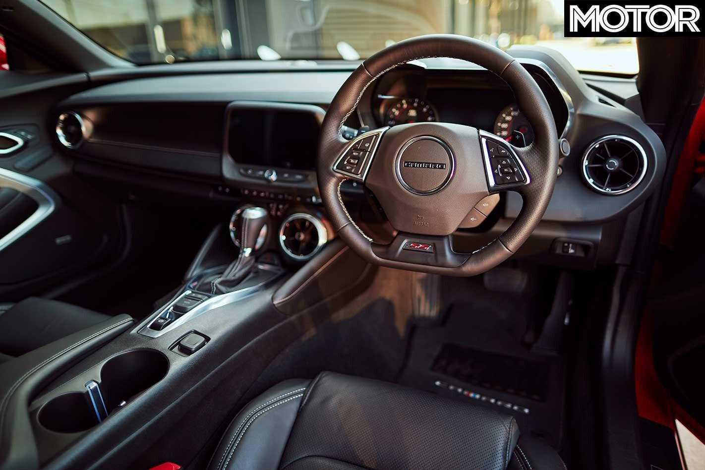 2018 Chevrolet Camaro 2 SS Interior Jpg