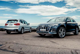 Audi Q5 45 TFSI vs BMW X3 30i xDrive