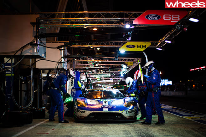 Ford -GT-racing -team -at -le -Mans