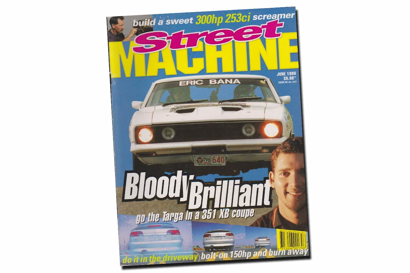 June 1996 Street Machine cover