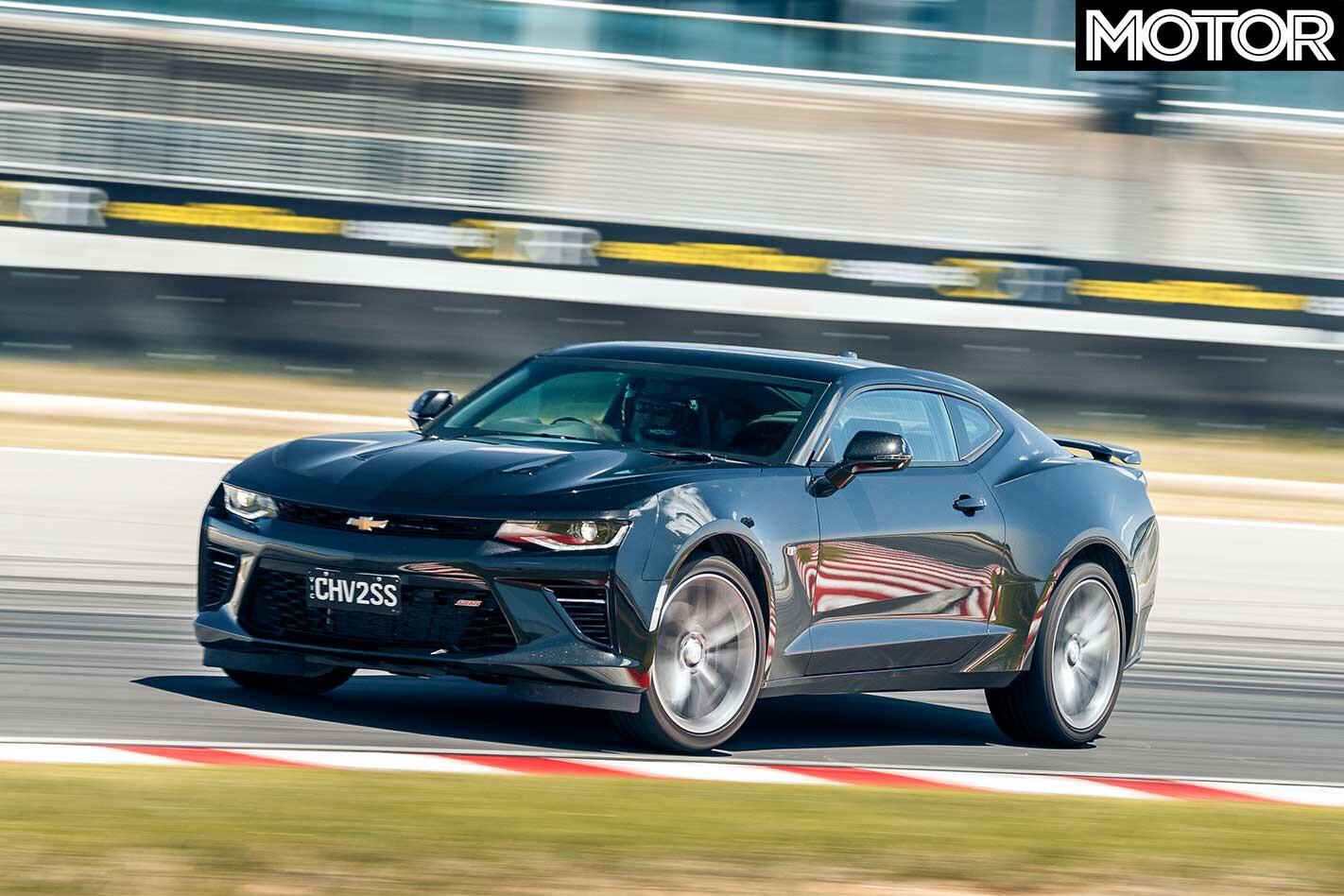 Performance Car Of The Year 2019 Track Test Chevrolet Camaro 2 SS Powerslide Jpg