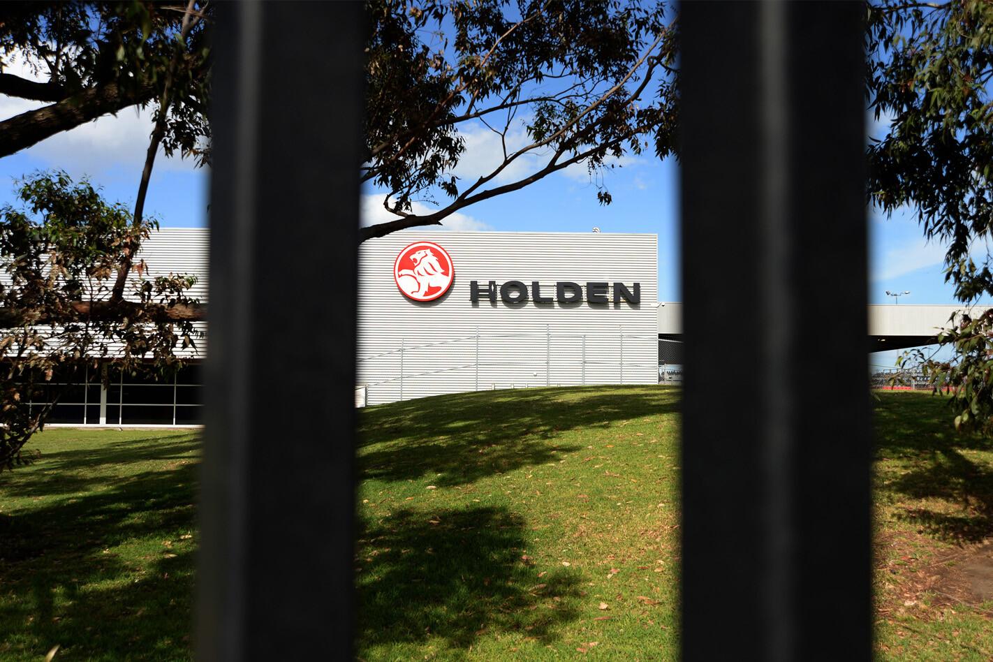 Holden engine plant