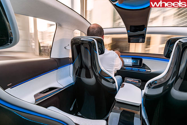 Mercedes -Benz -EQ-concept -SUV-interior