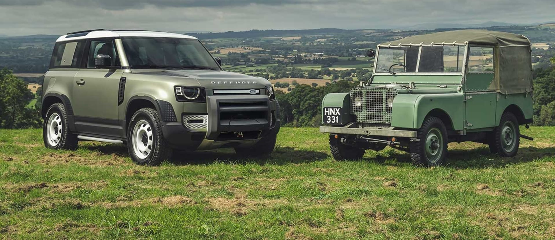 Opinion 2020 Land Rover Defender vs Classic Defender