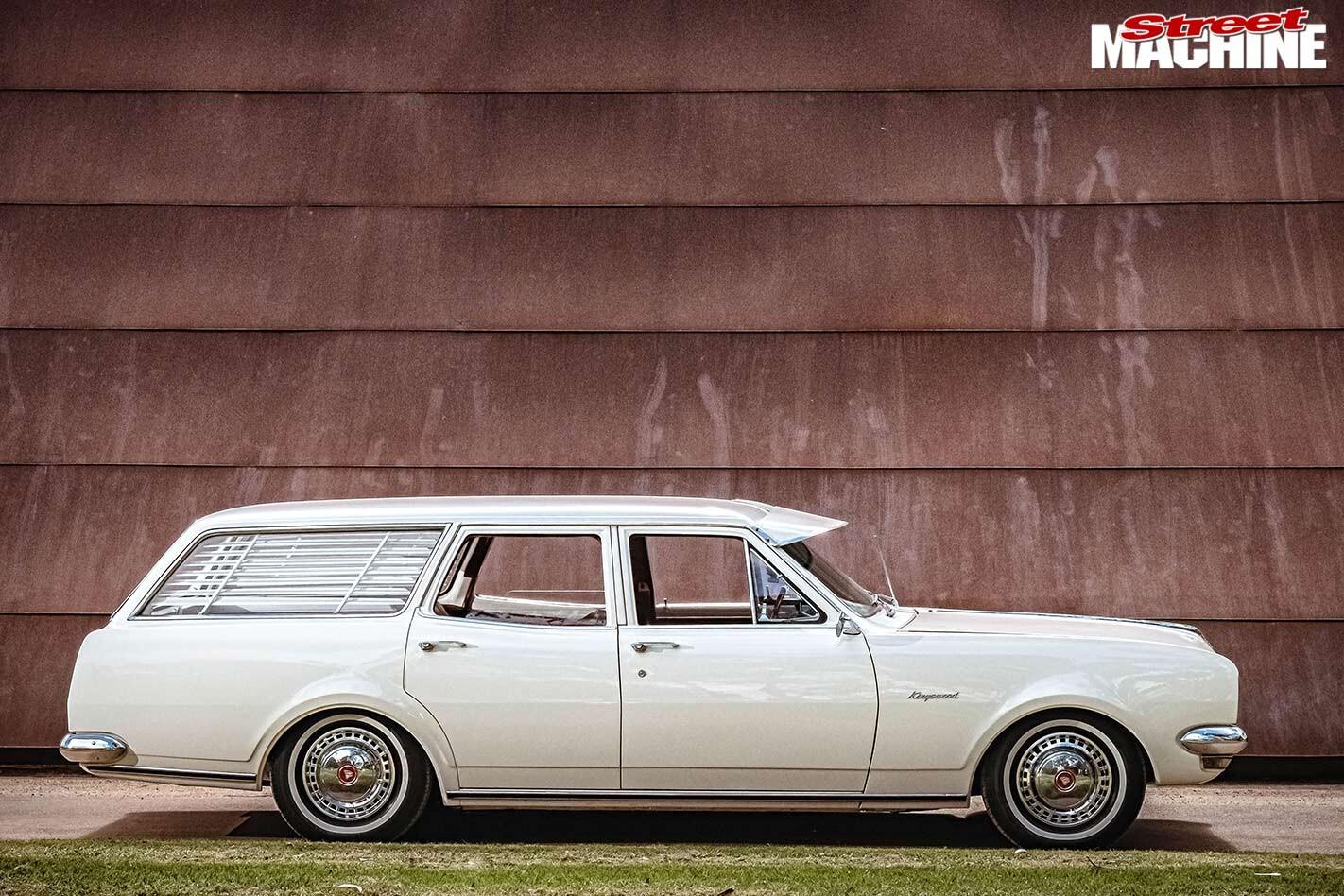 Holden HG wagon side