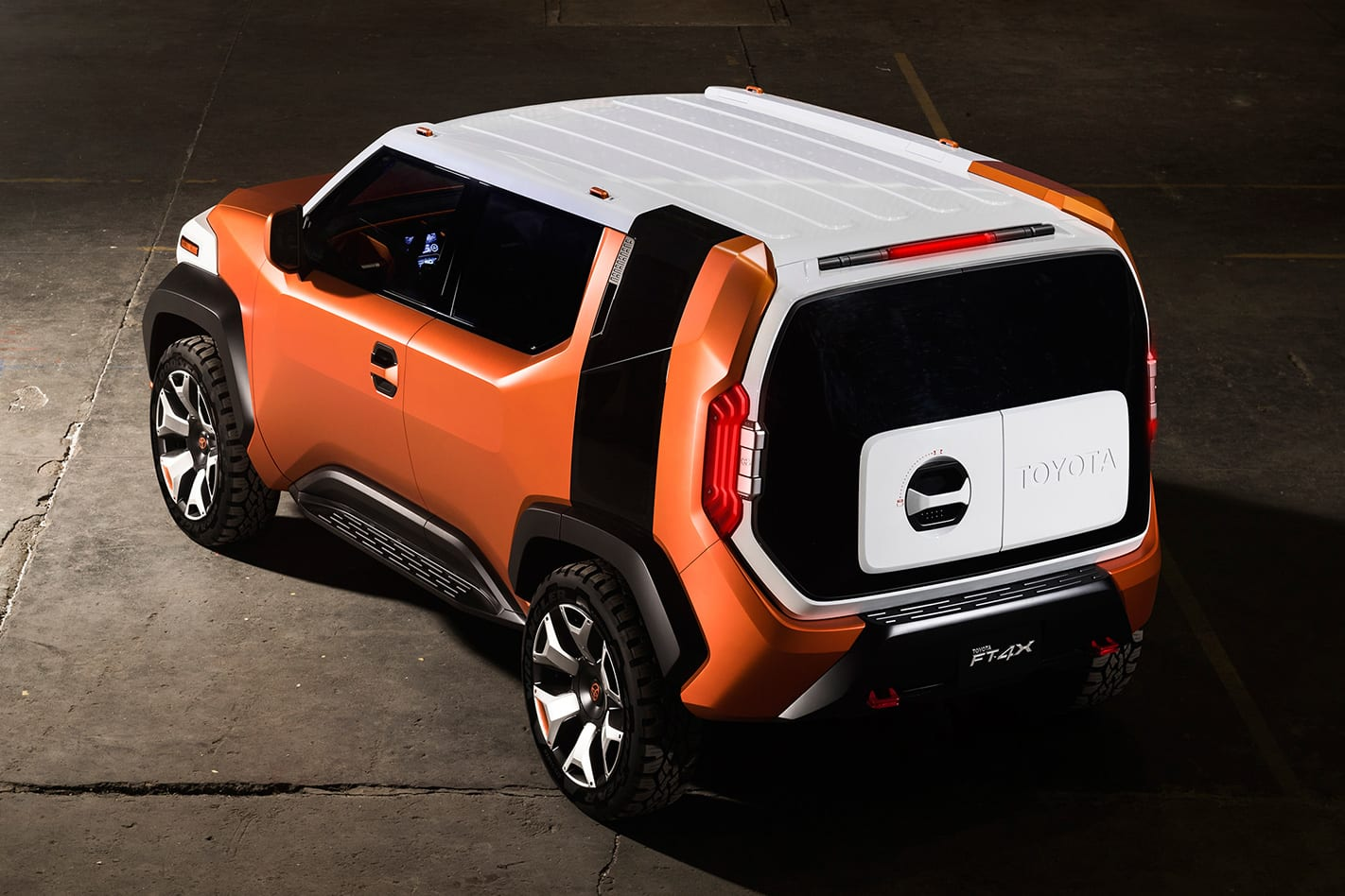Toyota FT-4X concept rear