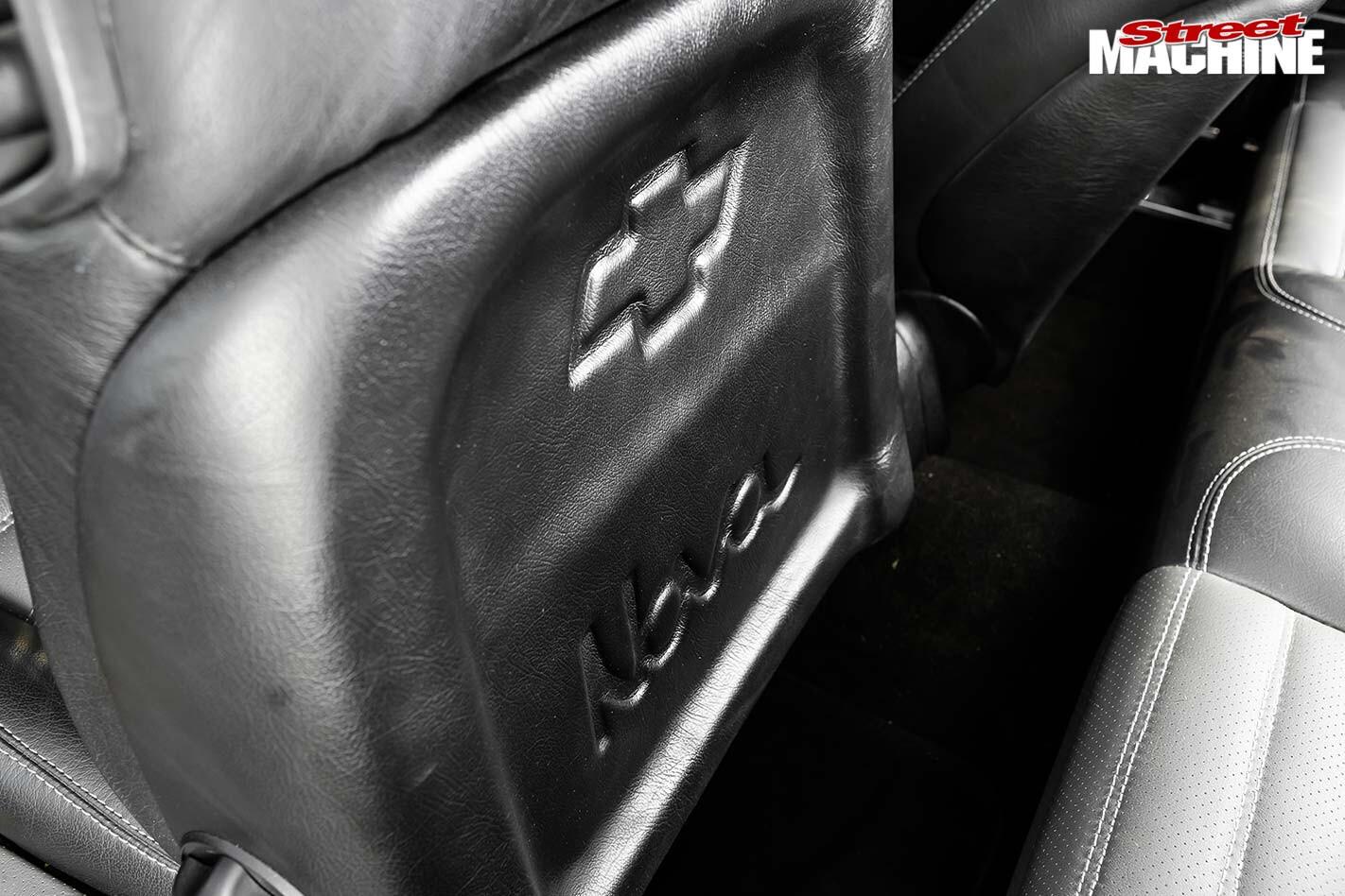 Chevrolet Nova seats