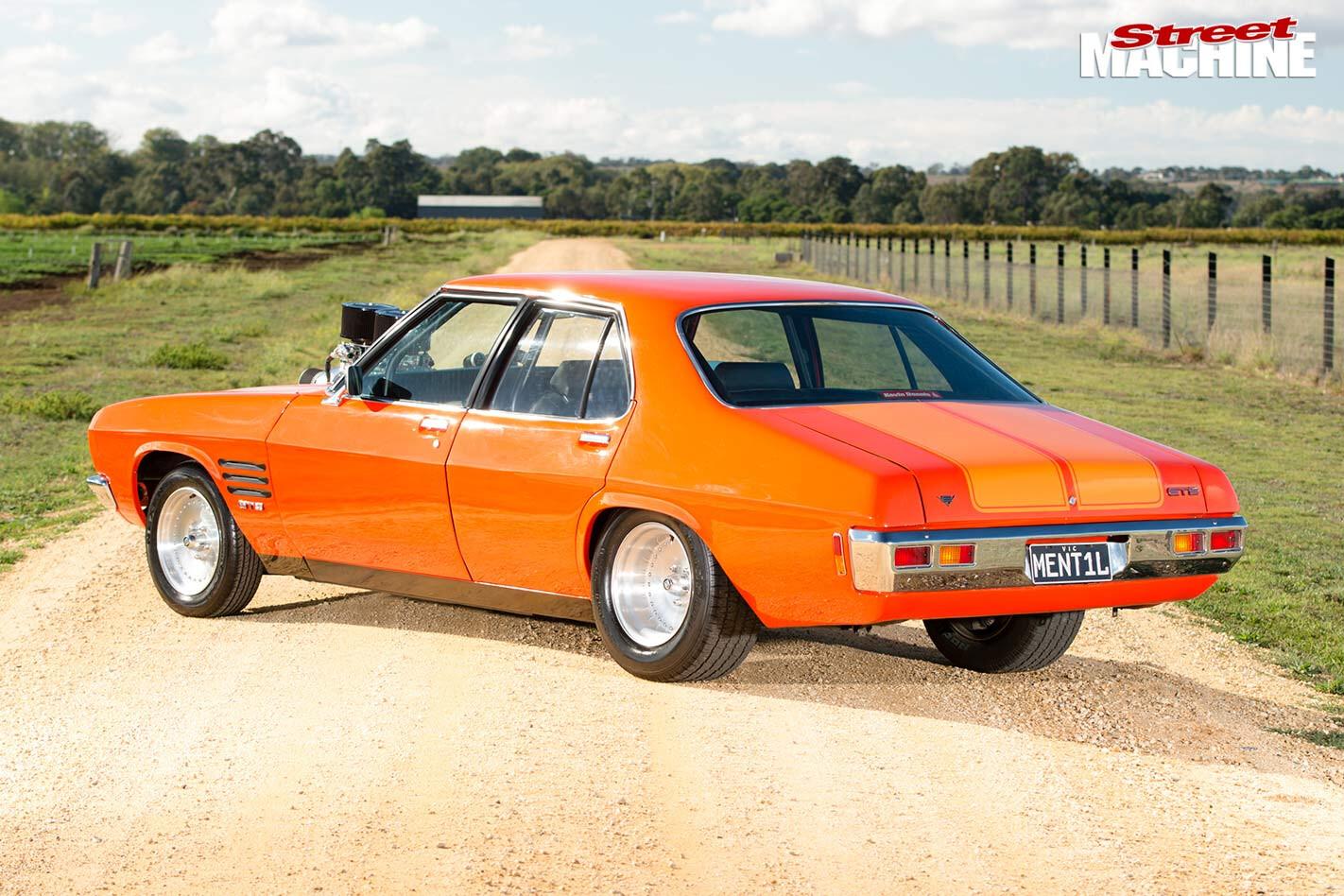 Holden HQ Monaro GTS rear