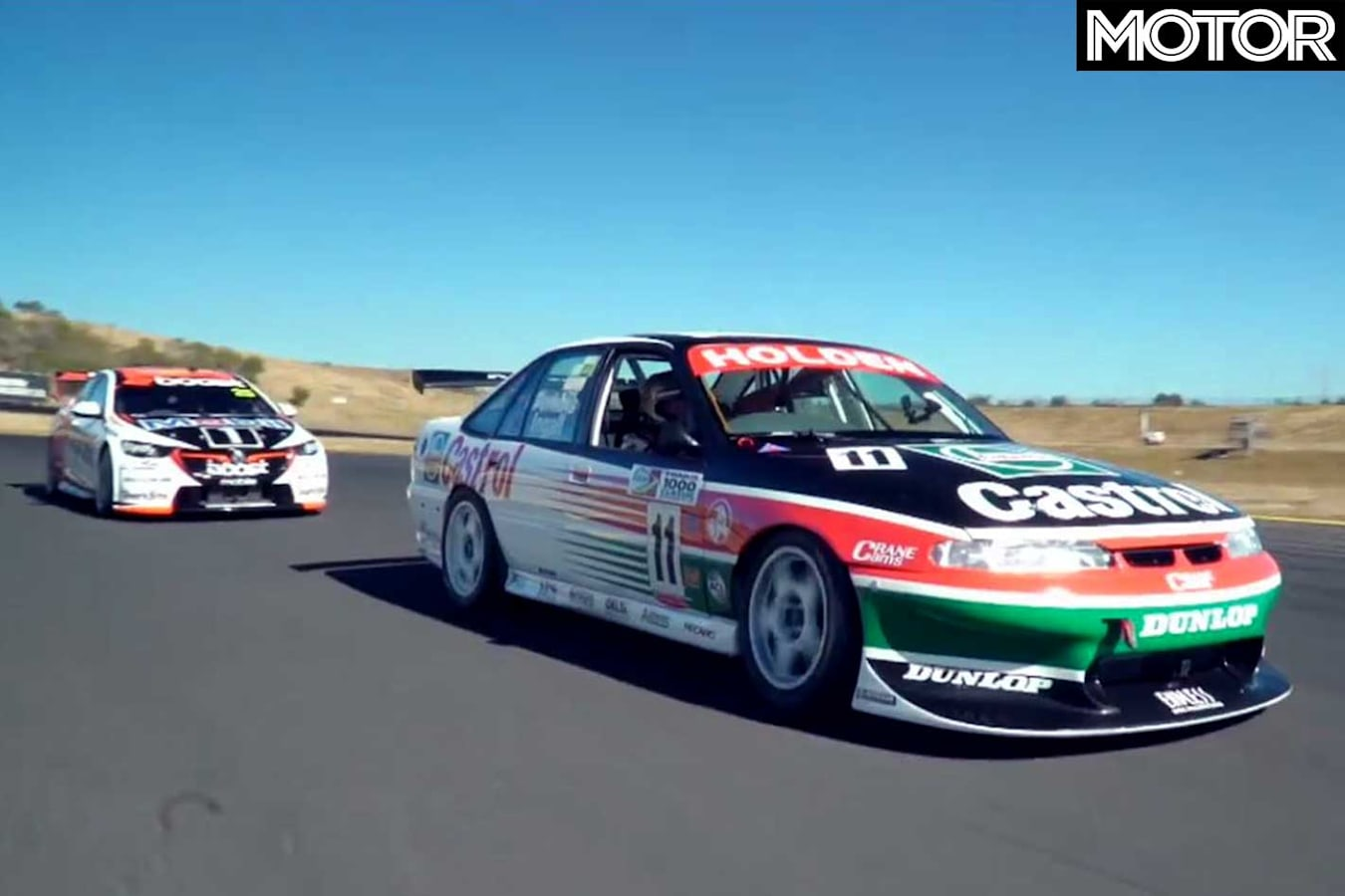 Jack And Larry Perkins Drive 1997 And 2018 Commodore Supercars Video Jpg