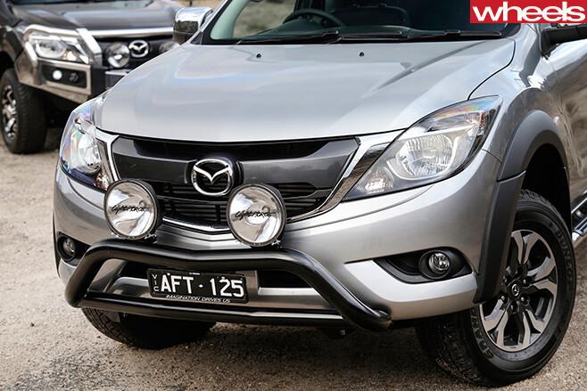 Mazda -BT-50-dual -cab -utility -front