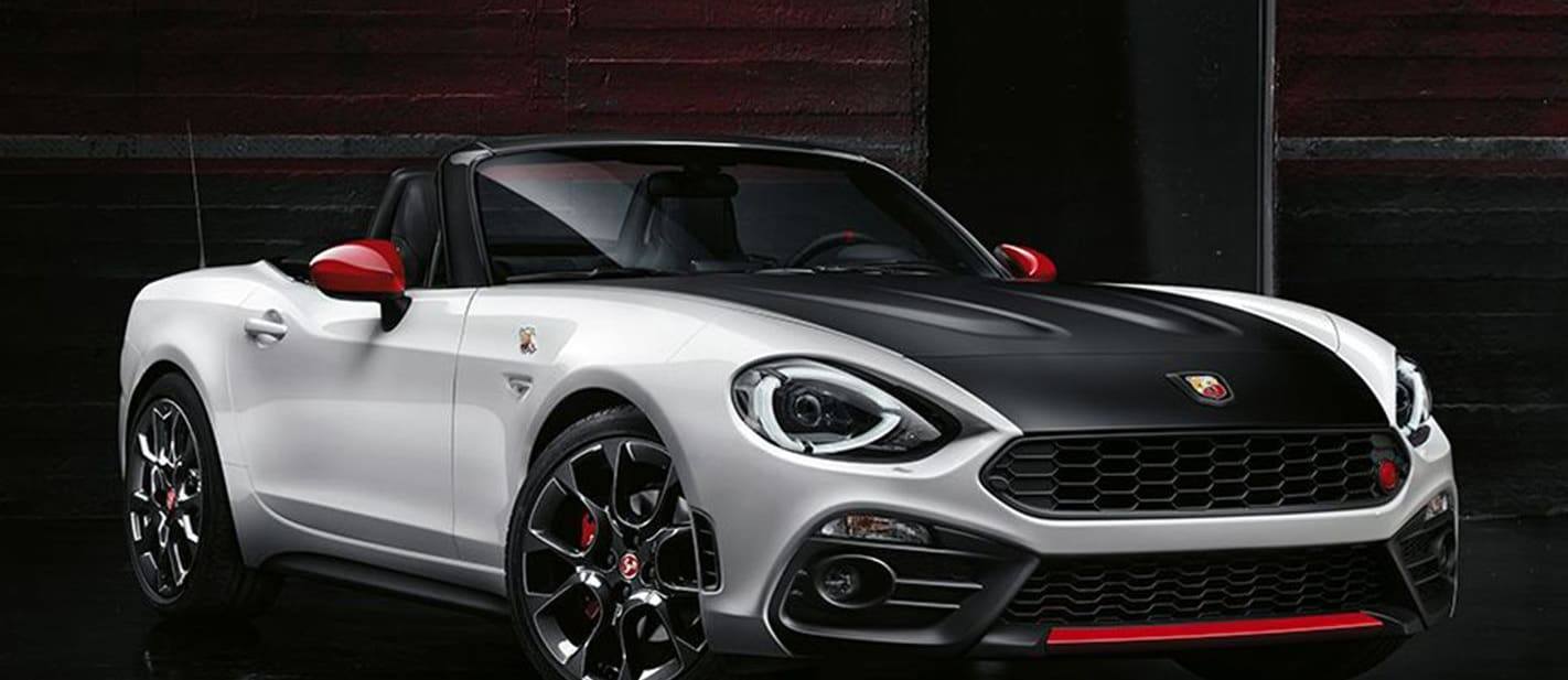 Fiat Abarth 124 Convertible Front Side Jpg