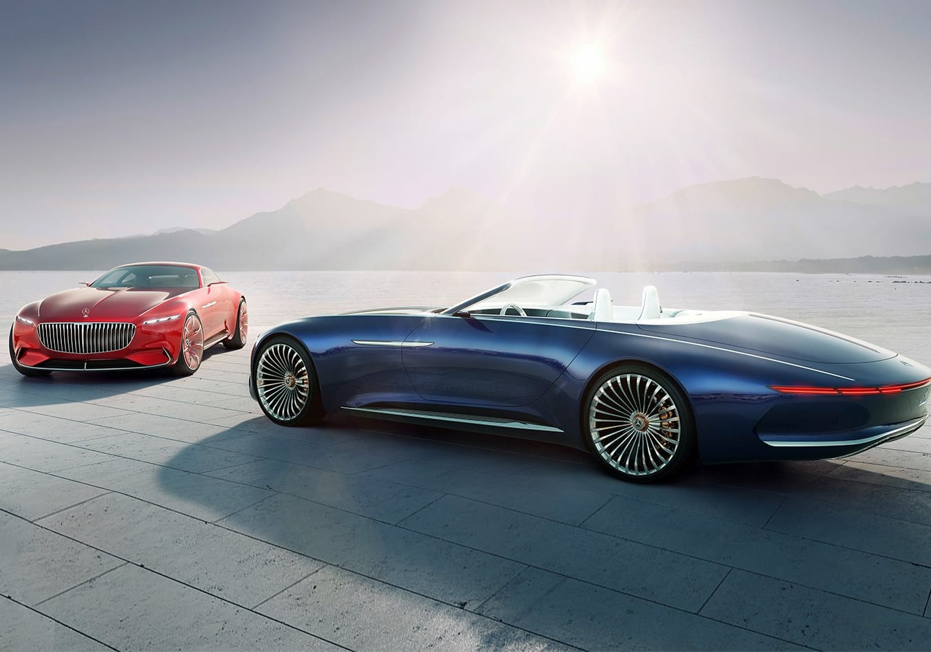 Mercedes-Maybach 6 land yacht could enter production