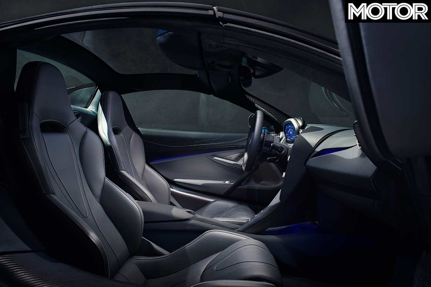 2019 Mc Laren 720 S Spider Interior Jpg