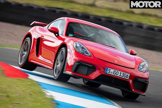 Porsche 718 Cayman GT4 track review