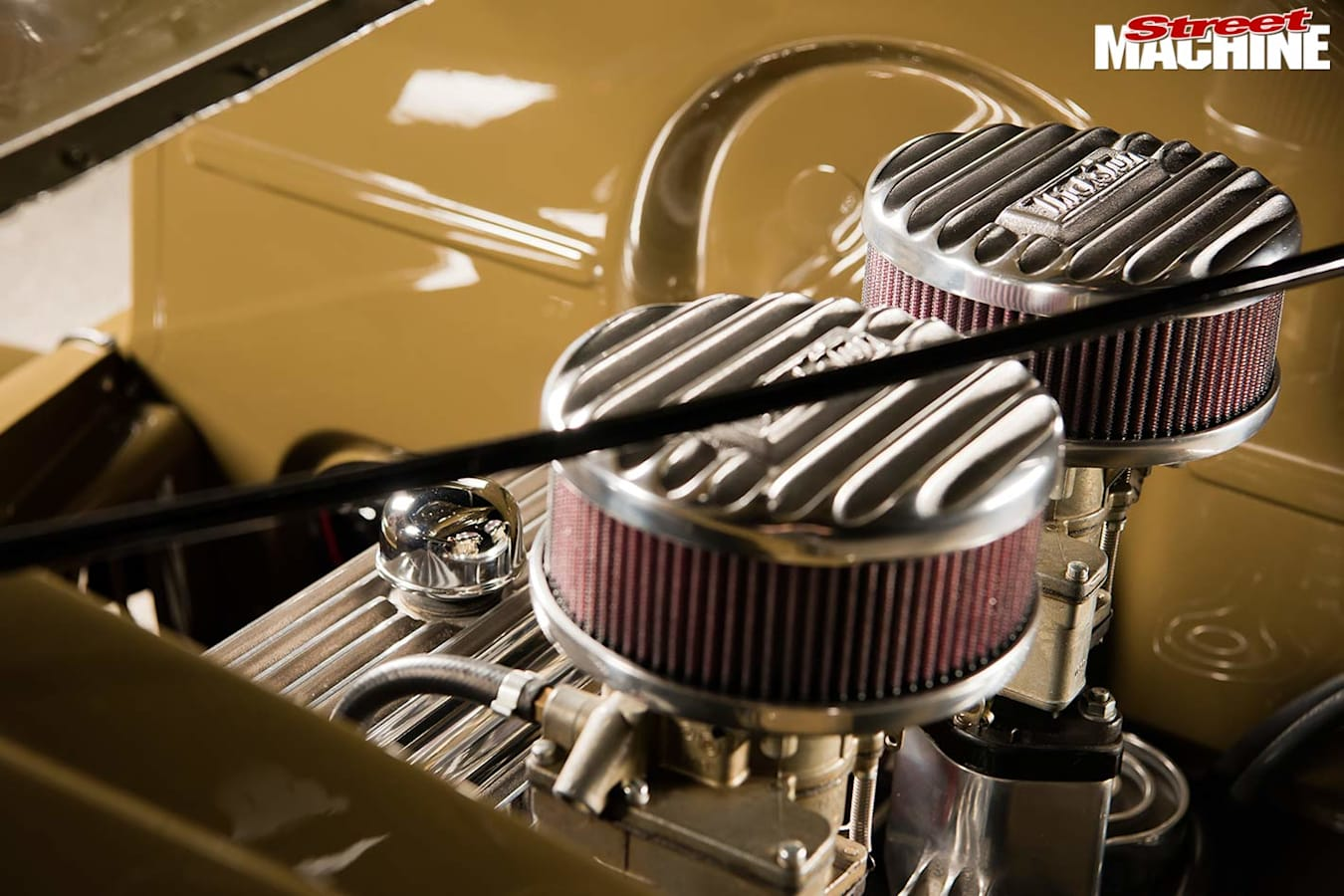 1938 Chev coupe engine