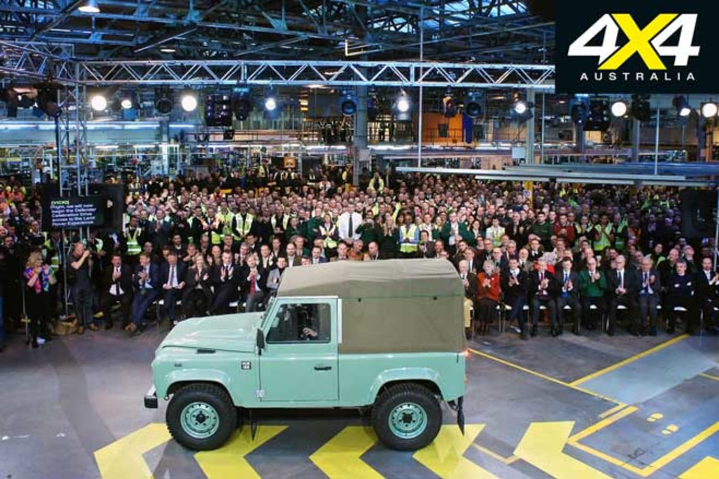 Land Rover Defender Final Production Jpg
