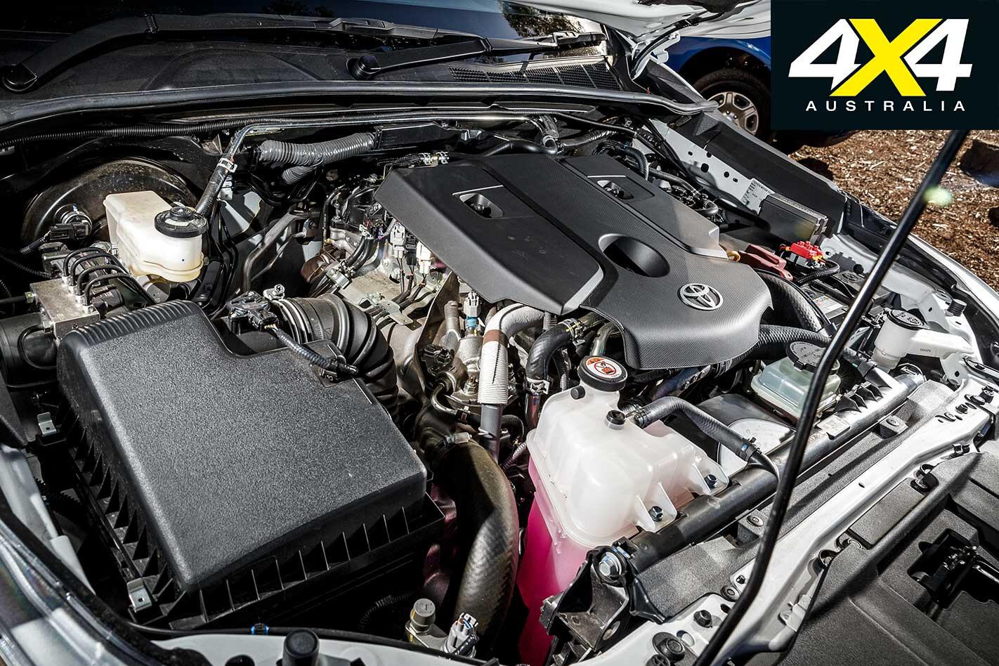 2018 Ute Test Toyota Hilux SR Engine Jpg
